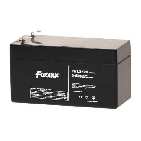 FUKAWA FW 1,2-12 U - Akumulator ołowiowy 12V/1,2Ah/faston 4,7mm