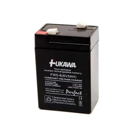 FUKAWA FW 5-6 U - Akumulator ołowiowy 6V/5 Ah/faston 4,7mm