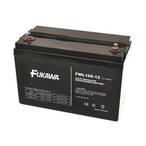 FUKAWA FWL 100-12 - Akumulator ołowiowy 12V/100 Ah/závit M6