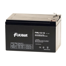 FUKAWA FWL 12-12 - Akumulator ołowiowy 12V/12Ah/faston 6,3mm