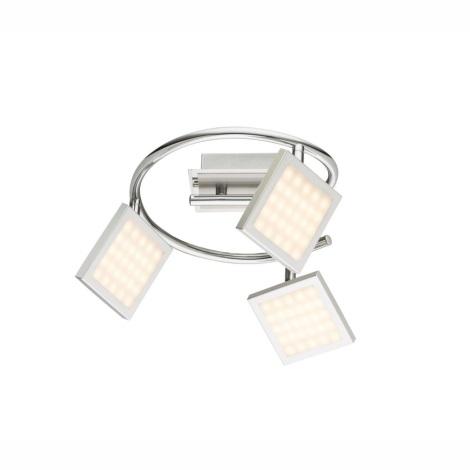 Globo 56122-3 - LED Oświetlenie punktowe TOMBEL 3xLED/6W/230V