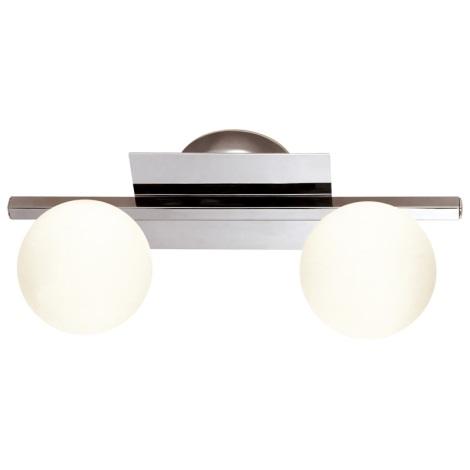 GLOBO 5663-2 -  Oświetlenie łazienkowe CARDIFF 2xG9/33W/230V