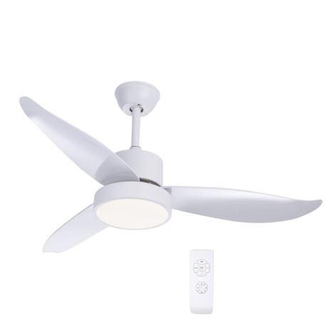 Globo - LED Wentylator sufitowy 1xLED/18W/230V + zdalne sterowanie
