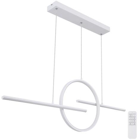 Globo - LED Żyrandol ściemnialny na lince LED/50W/230V + pilot