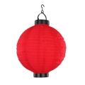 Globo - Solarna lampa wisząca 1xLED/0,06W czerwony