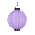 Globo - Solarna lampa wisząca 1xLED/0,06W fioletowy