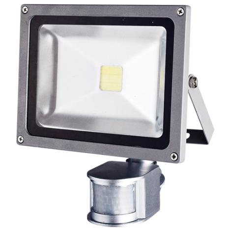 Greenlux - LED Reflektor z czujnikiem 1xLED/10W/230V IP44