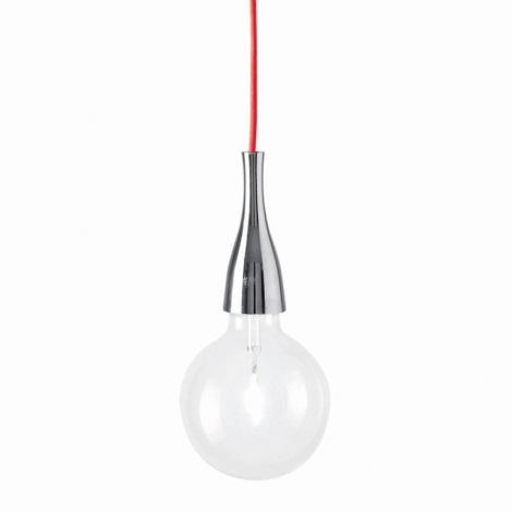 Ideal Lux - Lampa wisząca 1xE27/42W/230V błyszczący chrom
