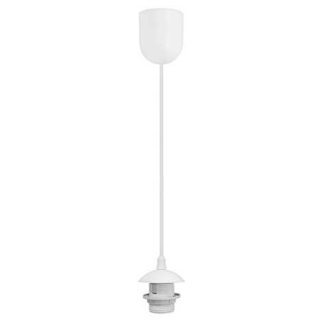 Kabel zasilający 1xE27/60W/230V biały