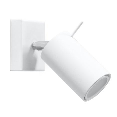 Kinkiet punktowy RING 1xGU10/40W/230V biały