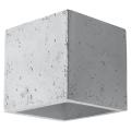 Kinkiet QUAD 1xG9/40W/230V beton