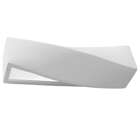Kinkiet SIGMA 1xE27/60W/230V biały