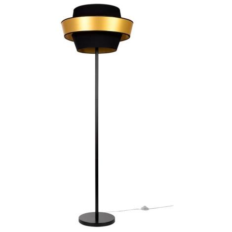 Lampa podłogowa PRETO GOLD 1xE27/60W/230V