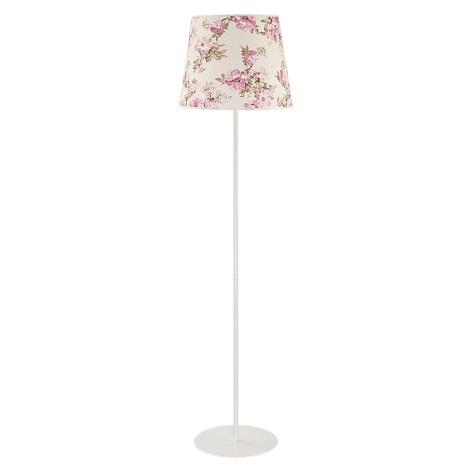 Lampa podłogowa VIOLIN 1xE27/40W/230V róża