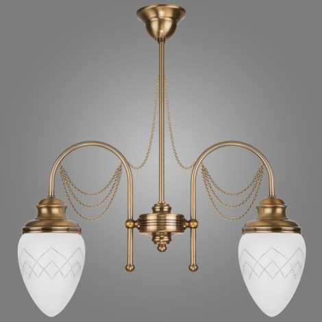 Lampa sufitowa RINAMA RI/2/L 2xE27/60W