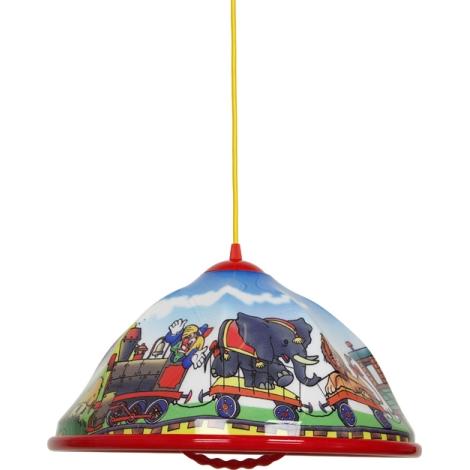 Lampa wisząca dziecięca CYRK 1xE27/60W/230V