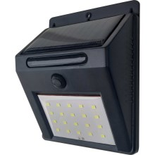 LED Kinkiet solarny LED/3W IP44