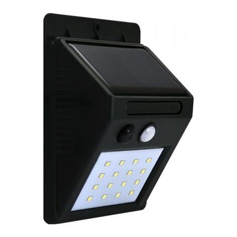 LED Kinkiet solarny z czujnikiem LED/2,2W