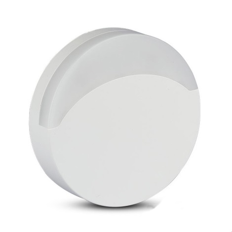 LED Lampka nocna z czujnikiem LED/0,5W/230V 65mm 3000K okrągła