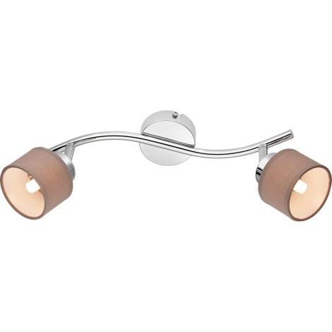 LED Oświetlenie punktowe LORETO 2xG9/3,5W/230V
