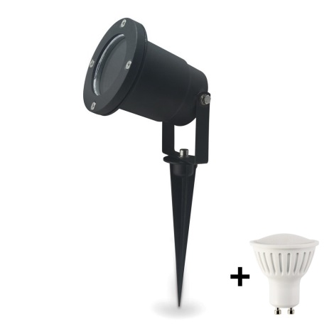 LED Oświetlenie zewnętrzne BLAKE 2 GU10/7W/230V
