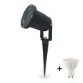 LED Oświetlenie zewnętrzne GARDEN 2 GU10/7W/230V