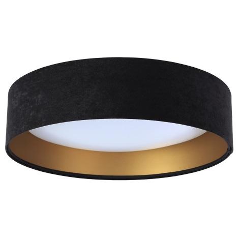LED Plafon GALAXY 1xLED/20W/230V czarny/złoty