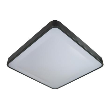 LED Plafon z czujnikiem WILTON LED/24W/230V antracytowy