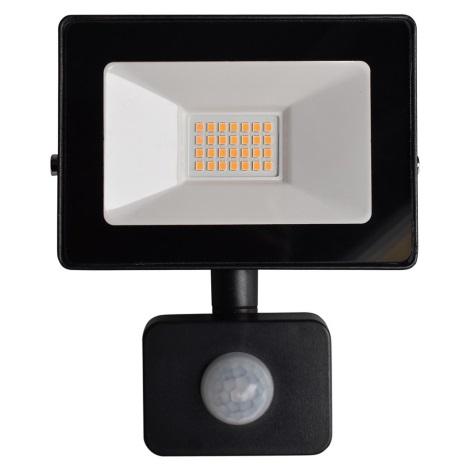 LED Reflektor z czujnikiem LED/20W/230V IP65 3000K