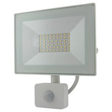 LED Reflektor z czujnikiem LED/30W/230V IP64 2400lm 4200K