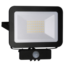 LED Reflektor z czujnikiem LED/30W/230V IP65
