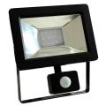 LED Reflektor z czujnikiem NOCTIS 2 SMD LED/10W/230V IP44 650lm czarny