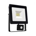 LED Reflektor z czujnikiem NOCTIS LUX SMD LED/20W/230V IP44 1700lm czarny