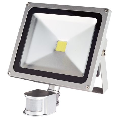 LED Reflektor z czujnikiem ruchu TOMI MCOB/30W - GXLS056
