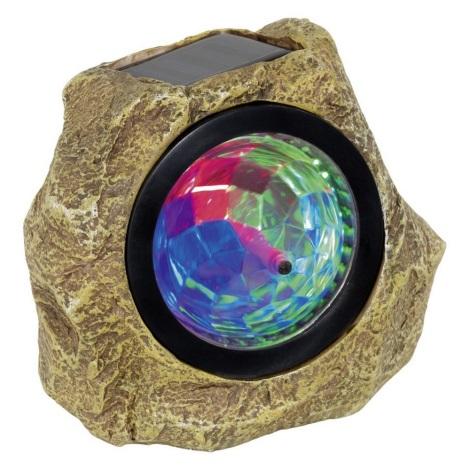LED RGB Lampa solarna SOLAR 3xLED-RGB/0,06W/1,2V
