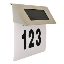 LED Solarny numer domu 1,2V IP44