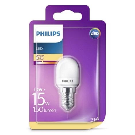 LED Żarówka do lodówki Philips E14/1,7W/230V