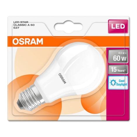 LED Żarówka E27/8,5W/230V 6500K - Osram