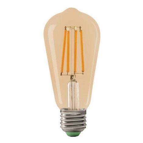 LED Żarówka LEDSTAR AMBER ST64 E27/10W/230V