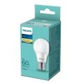 LED Żarówka Philips A60 E27/8W/230V 2700K
