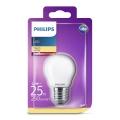LED Żarówka Philips E27/2,2W/230V
