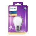 LED Żarówka Philips P45 E27/4,3W/230V 3000K