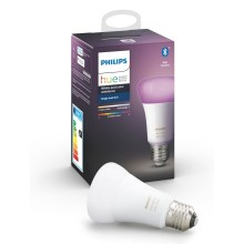 LED Żarówka ściemnialna Philips HUE WHITE AND COLOR AMBIANCE E27/9W/230V 2000-6500K