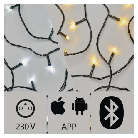 LED Zewnętrzny łańcuch świąteczny 240xLED/3,6W/230V IP44