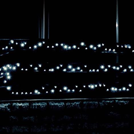 LED Zewnętrzny łańcuch świetlny 70m 1000xLED/230V zimna biała IP44