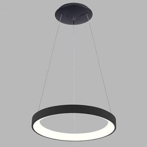 LED2 - LED Żyrandol na lince BELLA SLIM LED/38W/230V 3000/4000K czarna