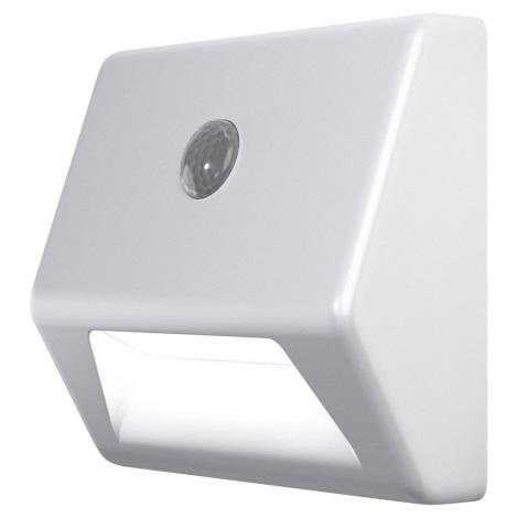 Ledvance - Oświetlenie schodowe LED z czujnikiem NIGHTLUX LED/0.25W/3xAAA IP54