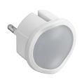 Legrand 50678 - LED Ściemnialne awaryjne światło do gniazdka LP9 LED/0,06W/230V