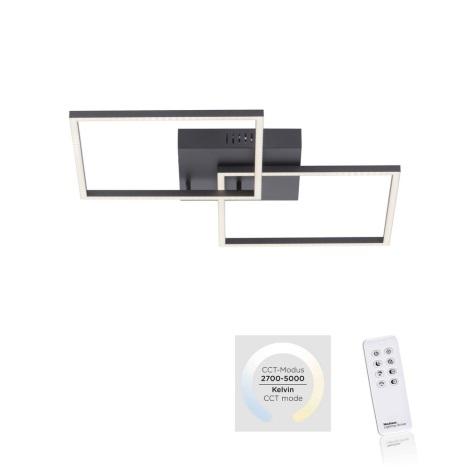 Leuchten Direkt 14141-18 - LED Plafon ściemnialny IVEN 2xLED/13,5W/230V + Pilot