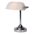 Lucide 17504/01/11 - Lampa stołowa BANKER 1xE14/ESL 11W/230V